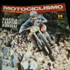 Coches y Motocicletas: MOTOCICLISMO 1ª QUINCENA - SEP 1974 - DRESDA 750 SUZUKI / TRIAL COSTA BRAVA / POSTER KATAYAMA. Lote 36904369