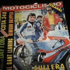 Coches y Motocicletas: MOTOCICLISMO Nº 450 - MAR 1976 - MONTESA 348 / INDOOR TRIAL / GIMSON SKIPPER . Lote 36904803
