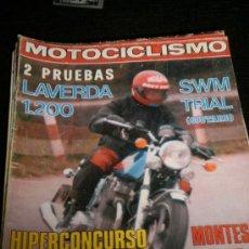 Coches y Motocicletas: MOTOCICLISMO Nº 545- ENE 1978 - LAVERDA 1200 / BENELLI SEI 78 / MONTESA. Lote 36914313