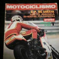 Coches y Motocicletas: MOTOCICLISMO Nº 470 - AGOS 1976 - MONTESA COTA 74 / MONTESA COTA 125 T / TRIAL USA / COPA OSSA . Lote 36914812
