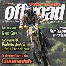 Coches y Motocicletas: REVISTA SOLO MOTO OFF ROAD Nº 26. . Lote 36920935