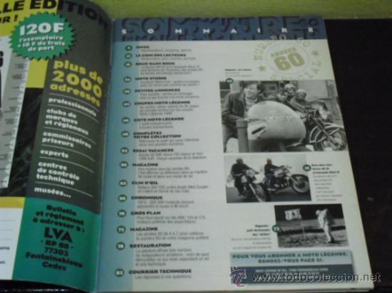 Coches y Motocicletas: MOTO LEGENDE Nº 60 - BULTACO-MINI-AUSTIN - SPECIAL AÑOS 60 - KAWA-NORTON - LOS ROCKERS - - Foto 2 - 36943261