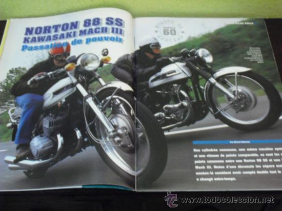 Coches y Motocicletas: MOTO LEGENDE Nº 60 - BULTACO-MINI-AUSTIN - SPECIAL AÑOS 60 - KAWA-NORTON - LOS ROCKERS - - Foto 3 - 36943261