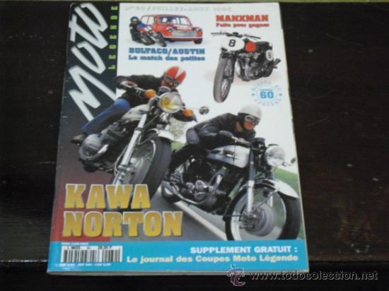 MOTO LEGENDE Nº 60 - BULTACO-MINI-AUSTIN - SPECIAL AÑOS 60 - KAWA-NORTON - LOS ROCKERS - (Coches y Motocicletas - Revistas de Motos y Motocicletas)