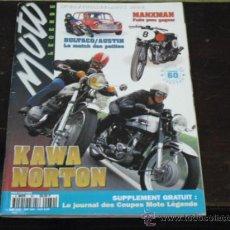 Coches y Motocicletas: MOTO LEGENDE Nº 60 - BULTACO-MINI-AUSTIN - SPECIAL AÑOS 60 - KAWA-NORTON - LOS ROCKERS -. Lote 36943261