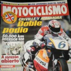 Coches y Motocicletas: MOTOCICLISMO Nº 1431 - JUL 1995 - KAWASAKI ZZR / SUZUKI RF / HUSQVARNA CROSS ENDURO. Lote 36964520