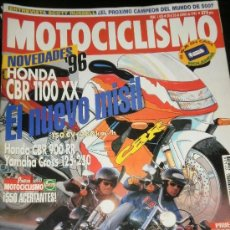 Coches y Motocicletas: MOTOCICLISMO Nº 1426 - JUN 1995 - YAMAHA YZ / HARLEY DAVIDSON BAD BOY / DYNA WIDE GLIDE / GP ITALIA . Lote 36964562
