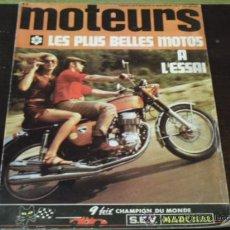Coches y Motocicletas: MOTEURS Nº 80 AÑO 1970 - LES PLUS BELLES MOTOS A L'ESSAI -. Lote 36971724