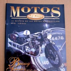 Coches y Motocicletas: REVISTA MOTOS DE AYER Nº 35. Lote 155821084