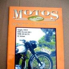 Coches y Motocicletas: REVISTA MOTOS DE AYER Nº 26. Lote 46773033