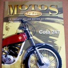 Coches y Motocicletas: REVISTA MOTOS DE AYER Nº 36. Lote 150995656