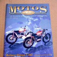 Coches y Motocicletas: REVISTA MOTOS DE AYER Nº 37. Lote 46773077