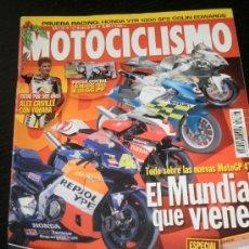 Coches y Motocicletas: MOTOCICLISMO Nº 1767 - ENE 2002 - HONDA CBR 900 RR / DAKAR / BMW CS 650 / BMW F 650 GS / HONDA VTR. Lote 245181215