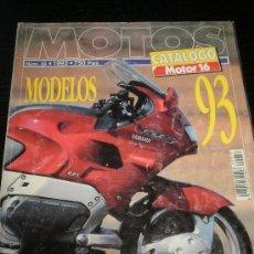 Coches y Motocicletas: MOTO CATALOGO ANUAL MOTOR 16 - AÑO 93 - Nº39 - BMW /KAWASAKI /HONDA /SUZUKI /BIMOTA/NO MOTOCICLISMO. Lote 36997576