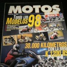 Coches y Motocicletas: MOTO CATALOGO ANUAL MOTOR 16 - AÑO 98 - Nº57 - BMW /KAWASAKI /HONDA /SUZUKI /BIMOTA/NO MOTOCICLISMO. Lote 36997629