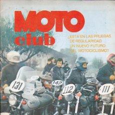 Coches y Motocicletas: REVISTA MOTO CLUB EDITA POR REAL MOTO CLUB DE CATALUÑA NOVIEMBRE/ DICIEMBRE 1975. Lote 37003410