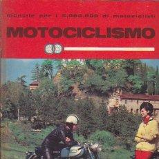 Coches y Motocicletas: REVISTA ITALIANA MOTOCICLISMO ABRIL 1962. Lote 37003429