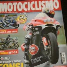 Coches y Motocicletas: MOTOCICLISMO Nº 1918 - NOV 2004 -YAMAHA MT 01 / DUCATI MONSTER S2R / GAS GAS FSE 450 / SHERCO 4.5I. Lote 217850157