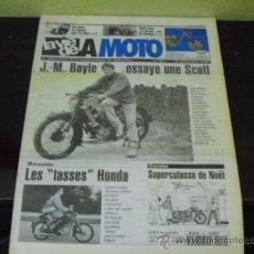 Coches y Motocicletas: LA VIE DE LA MOTO Nº 151 - PRUEBA SCOOT SUPER SQUIRREL 1928 - LAS MOTOS DEL DIA D -. Lote 37071775