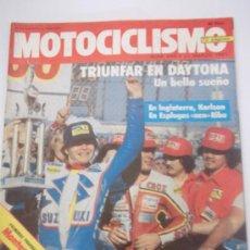 Coches y Motocicletas: MOTOCICLISMO 698,21/03/81,MONTESA CRONO 350 MS,ANVIAN 250,ALCIRA TROFEO FALLAS. Lote 37180239