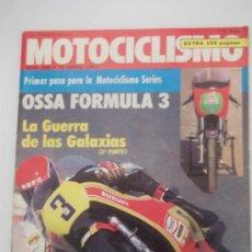 Coches y Motocicletas: MOTOCICLISMO 688 10/1/81, OSSA FORMULA 3, GUZZI 850 T 4, CAGIVA SST 350, VESPA PRIMAVERA 125. Lote 270365628