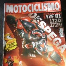 Coches y Motocicletas: MOTOCICLISMO Nº 1873 - ENE 2004 - YAMAHA R1 / HONDA CBF / PINGUINOS / DAKAR / BENELLI NAKED. Lote 245709650