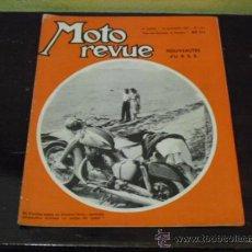 Coches y Motocicletas: MOTO REVUE Nº 1321 - AÑO 1956 - PRUEBA NSU 175 MAXI, 250 SUPER MAX - MOTOS SOVIETICAS -. Lote 37169524