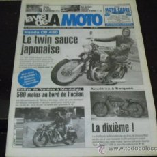 Coches y Motocicletas: LA VIE DE LA MOTO Nº 187 - PRUEBA HONDA CB 450 B BLACK BOMBER - VELO SOLEX -. Lote 37278432