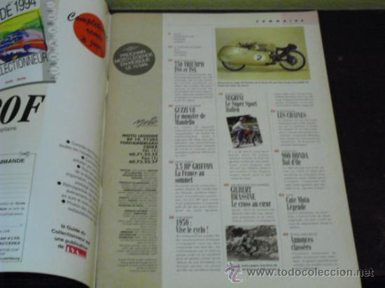 Coches y Motocicletas: MOTO LEGENDE Nº 36 - TRIUMPH BONNEVILLE 750 - GUZZI V8 500 - GRIFFON 1907 - - Foto 2 - 37299081