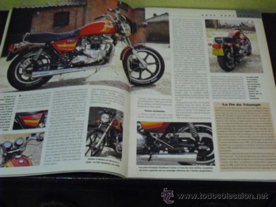 Coches y Motocicletas: MOTO LEGENDE Nº 36 - TRIUMPH BONNEVILLE 750 - GUZZI V8 500 - GRIFFON 1907 - - Foto 4 - 37299081