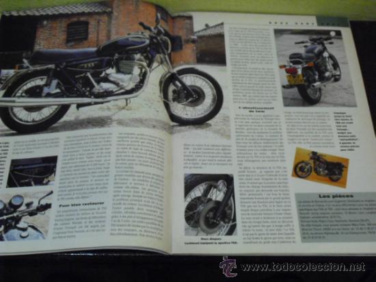 Coches y Motocicletas: MOTO LEGENDE Nº 36 - TRIUMPH BONNEVILLE 750 - GUZZI V8 500 - GRIFFON 1907 - - Foto 5 - 37299081
