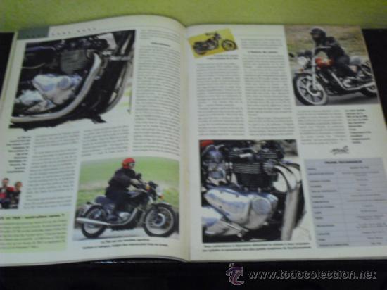 Coches y Motocicletas: MOTO LEGENDE Nº 36 - TRIUMPH BONNEVILLE 750 - GUZZI V8 500 - GRIFFON 1907 - - Foto 6 - 37299081