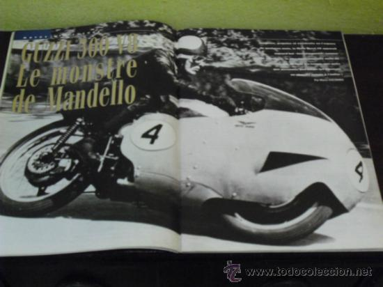 Coches y Motocicletas: MOTO LEGENDE Nº 36 - TRIUMPH BONNEVILLE 750 - GUZZI V8 500 - GRIFFON 1907 - - Foto 7 - 37299081