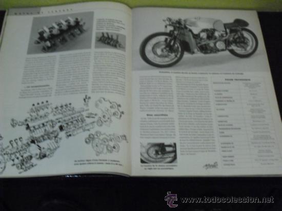 Coches y Motocicletas: MOTO LEGENDE Nº 36 - TRIUMPH BONNEVILLE 750 - GUZZI V8 500 - GRIFFON 1907 - - Foto 9 - 37299081