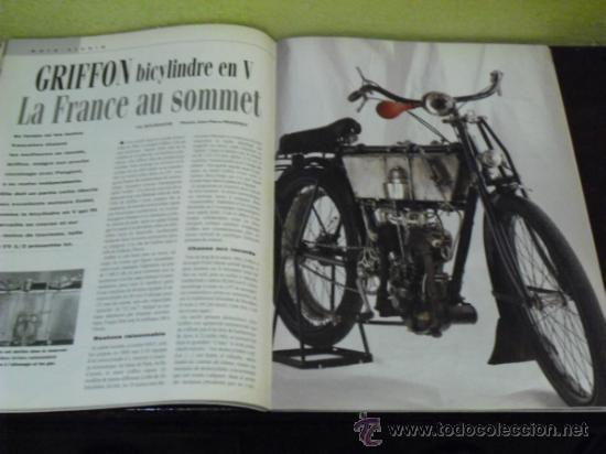 Coches y Motocicletas: MOTO LEGENDE Nº 36 - TRIUMPH BONNEVILLE 750 - GUZZI V8 500 - GRIFFON 1907 - - Foto 10 - 37299081