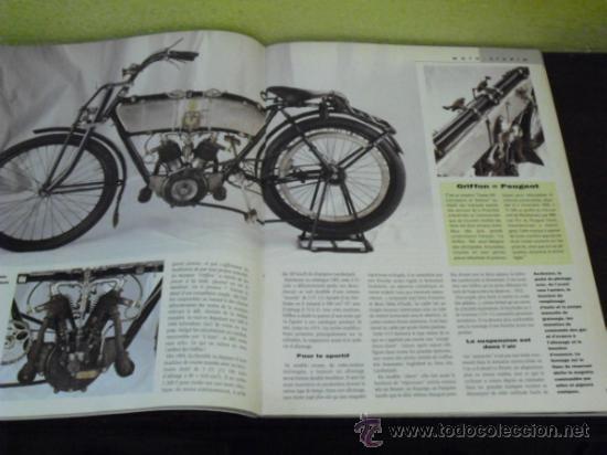 Coches y Motocicletas: MOTO LEGENDE Nº 36 - TRIUMPH BONNEVILLE 750 - GUZZI V8 500 - GRIFFON 1907 - - Foto 11 - 37299081