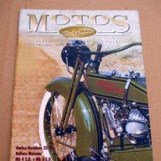 Coches y Motocicletas: REVISTA MOTOS DE AYER Nº 16. Lote 126888242