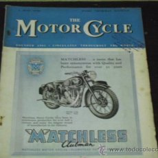 Coches y Motocicletas: THE MOTOR CYCLE - 2 JUNE 1949 - ROYAL ENFIELD VERTICAL-TWIN -. Lote 37338581