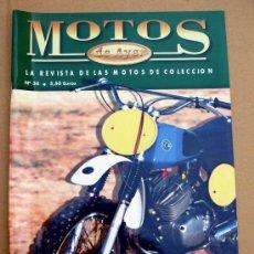 Coches y Motocicletas: REVISTA MOTOS DE AYER Nº 34. Lote 46772923