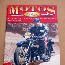 Coches y Motocicletas: REVISTA MOTOS DE AYER Nº 33. Lote 219533961