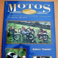 Coches y Motocicletas: REVISTA MOTOS DE AYER Nº 13. Lote 126888318