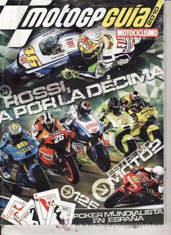 SUPLEMENTO MOTOCICLISMO GUÍA MOTO GP 2010. (Coches y Motocicletas - Revistas de Motos y Motocicletas)