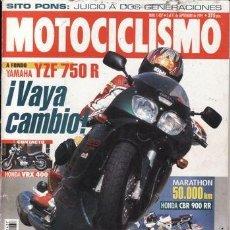 Coches y Motocicletas: REVISTA MOTOCICLISMO Nº 1437 AÑO 1995. PRUEBA: YAMAHA YZF 750 R. HONDA VRX 400. HONDA CBR 900 RR 50.. Lote 37548876
