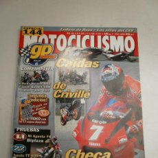 Coches y Motocicletas: REVISTA MOTOCICLISMO HONDA SUZUKI Y YAMAHA 600 MV AGUSTA F4 BMW R 1200 C SUZUKI GS 500E. Lote 37779777