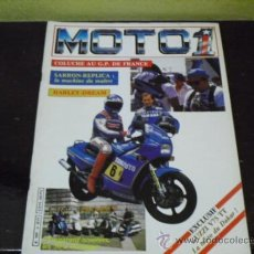 Coches y Motocicletas: MOTO 1 - PRUEBAS YAMAHA FZ 750 - GUZZI 750 BAJA - . Lote 37949098