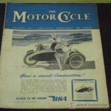 Coches y Motocicletas: THE MOTOR CYCLE - ABRIL 1949 - PRUEBA TRIUMPH TIGER 100. 498 C.C. -. Lote 37949137