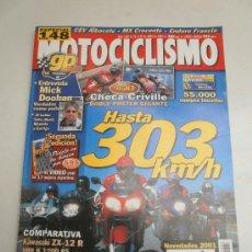Coches y Motocicletas: REVISTA- KAWASAKI ZX-12R- BMW K 1200RS- HONDA CBR 1100 XX- SUZUKI GSX 1300R- YAMAHA YZF 1000. Lote 37966491
