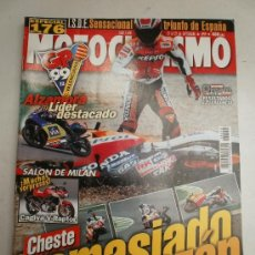 Coches y Motocicletas: REVISTA- KAWASAKI ZX 9 R- HONDA X 11, HONDA VTR 1000 SP1- REGLAJES HONDA CBR 900 RR- HONDA XR 650 R . Lote 37966771