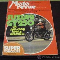 Coches y Motocicletas: MOTO REVUE Nº 2.157 - AÑO 1974 - PRUEBA SUZUKI GT 250 - MADEMOISELL ZUNDAPP -. Lote 38098188