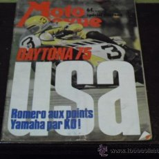 Coches y Motocicletas: MOTO REVUE Nº 2211- AÑO 1975 - PRUEBA GUZZI 350 GTS - DAYTONA 75 -. Lote 38098459